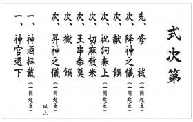 切麻散米 (きりぬささんまい)