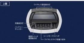 ワイヤレスアンプ(マイク2本付)画像3