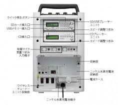ワイヤレスアンプ(マイク2本付)画像2